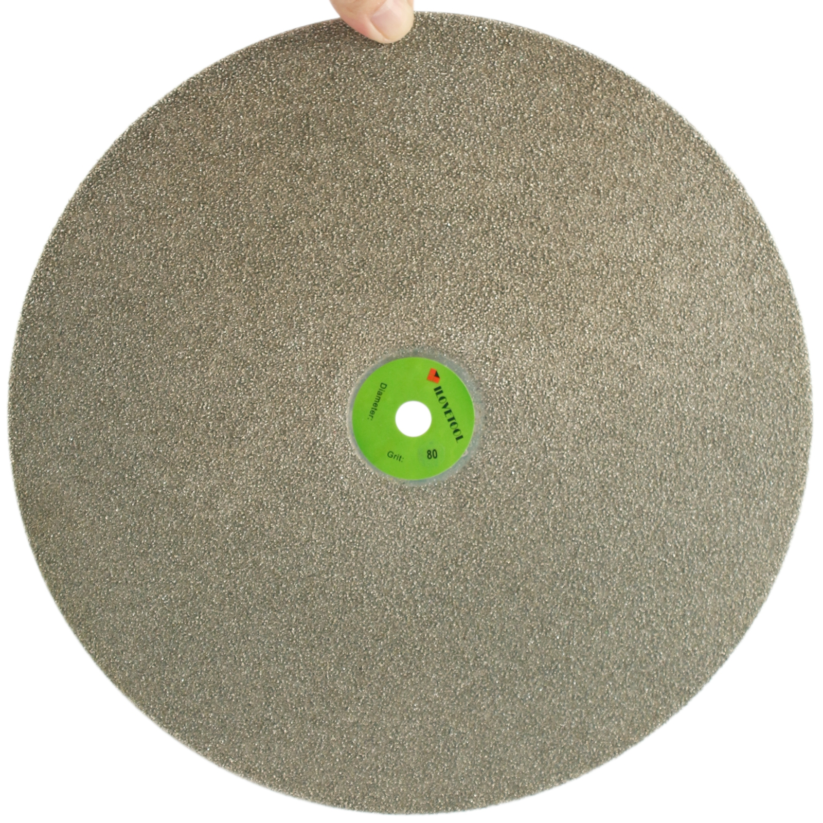 14 inch Diamond Coated Flat Lap Disk Grinding Polishing Wheel Grit 80 - 1000 ILOVETOOL imperforate 8 inch diamond grinding disc coated flat lap disk jewelry tools ilovetool