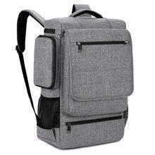 0f746c5818130 Büyük Dizüstü Sırt Çantası 18 18.4 Inç okul macbook çantası Pro erkek kadın  büyük kapasiteli seyahat