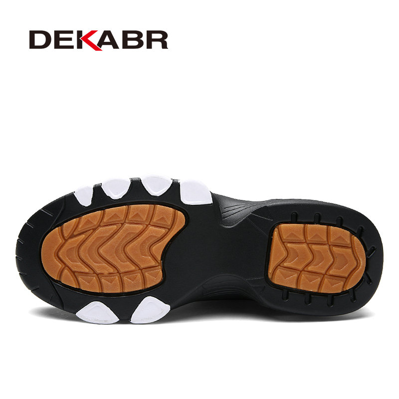 DEKABR Heighten 5cm Men Running Shoes New Air Cushion Sneakers Men Outdoor Sports Shoes Walking Shoes Jogging Athletic Run Shoes