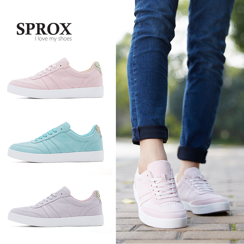 SPROX 2018 New Arrival Women Shoes pink flat shoes woman soft casual women shoes designers platform slip on shoes for women