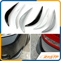 RASTP Free Shipping Door Bumper Rubber Strip Anticollision Bar Arc Anti Scratch Protection Edge Fender Guard