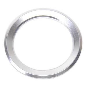 CITALL Silver Car Steering Wheel Center Ring Cover For BMW 1 3 4 5 7 Series M3 M5 GT5 X1 X3 X5 X6 E38 F01 E84 F25 E70(China)