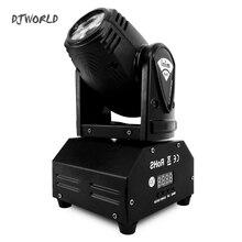 DJWorld LED 10w Moving Head Spot Luces Discoteca Stage Lighting Effect For Night Light DJ KTV Disco Beam Lights Very Professiona
