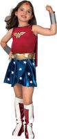 Wonder Woman Kid Cosplay Costume Party Fancy Dress Outfit Child Uniform Suit