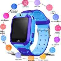 GPS montre intelligente enfant coffre-fort montre intelligente appel SOS GPS appel localisation localisateur Relogio Infantil