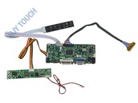 Free Shipping M NT68676 2A HDMI DVI VGA LCD Controller Board DIY Kit For LTM200KT10 LTM200KT12