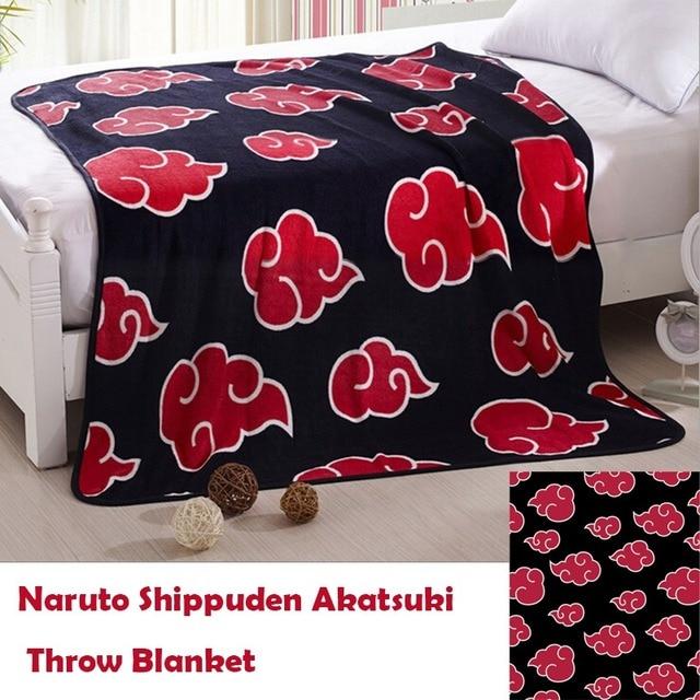 Akatsuki Coral Fleece Throw Blanket