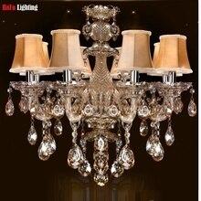 FRETE GRÁTIS iluminação interior lustres de cristal contemporânea do candelabro do vintage quarto lustres Lustre da sala de jantar