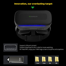VR SHINECON VR All-in-one Virtual Reality Headset 3D Glasses 1080P 5.5Inch IPS 108 FOV WiFi Bluetooth 4.0 w /USB port TF Slot