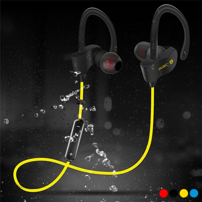 Wireless Bluetooth Headset Sport Stereo Headphone Earphone For iPhone Samsung BINMER Futural Digital Drop Shipping F25 new 5 in 1 hi fi wireless headset headphone earphone for tv dvd mp3 pc r179t drop shipping