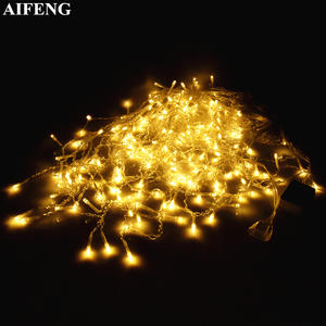 AIFENG Icicle-String-Light 220V Led Curtain Party-Decor Christmas Garland Wedding 110V