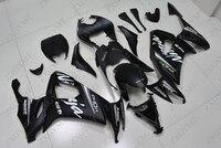 Motorcycle Fairing for Kawasaki ZX10r 2008 2010 Matter Black Fairings Ninja ZX 10r 2009 Abs Fairing Ninja ZX 10r 2010