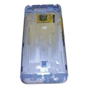 Image 4 - Оригинальный чехол для HTC One M9, чехол с аккумулятором, задняя крышка, задняя крышка, металлическая задняя крышка, верхняя крышка, лоток для sim карт, лоток для SD TF, Боковая кнопка
