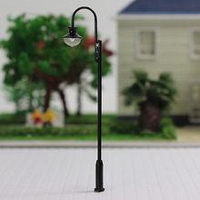LQS31 5 шт. модель железной дороги станционный фонарь столбы двора уличного света лампы OO/HO весы