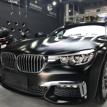 SUNICE Car Styling Wrap Sticker Black Lightning Metal Color Change Air Bubble Free Body Handle Decor 1.52x10m/60inx393in