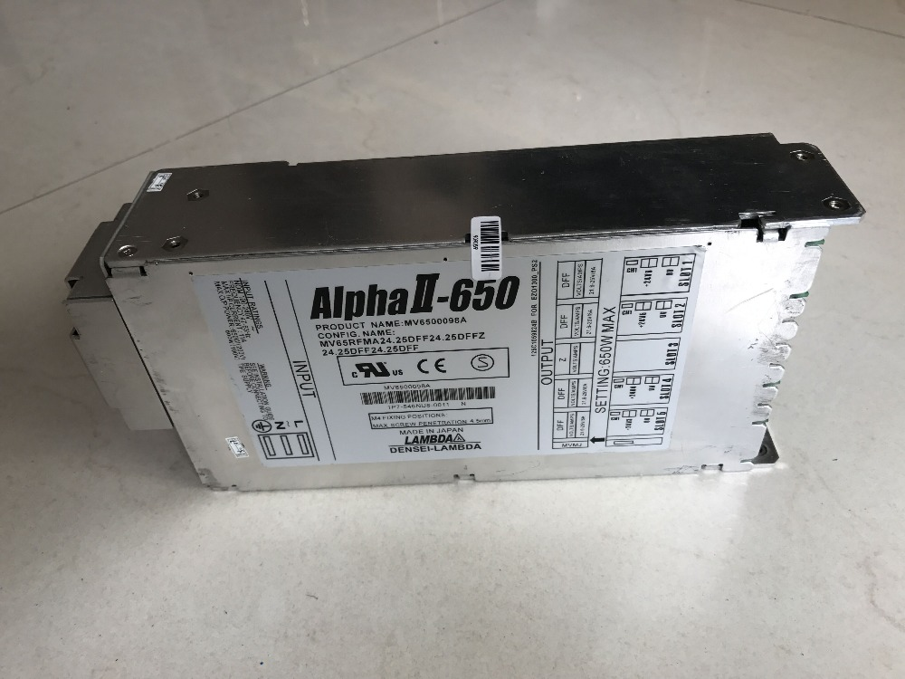 Used Alpha II 650 PS2/Fuji main Power supply 125C1059624/125C1059624B for Frontier 550/570/LP550/LP5700 minilabs,ready stock