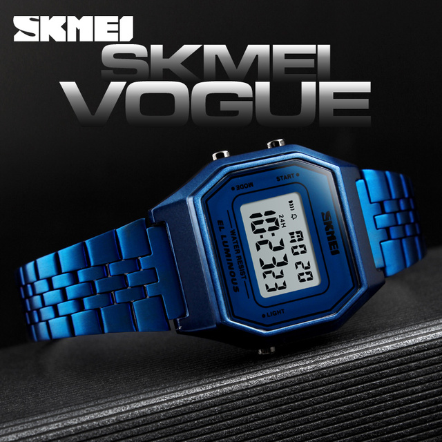 SKEMI Women Watches Luxury Brand Sports Ladies Watch Fashion 30M Waterproof Digital Wrist Watches For Women Relogio Feminino