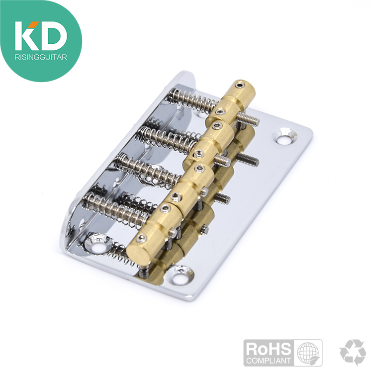 4 strings bass guitar bridge with brass saddles adjustable bass bridge accessory parts rotosound rs66lc bass strings stainless steel