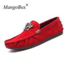 MangoBox 어린 소년 캐주얼 신발 브라운 성인 Moccasins 스 니 커 즈 봄 남성 플랫 신발로 봄 여름 캐주얼 신발 남성