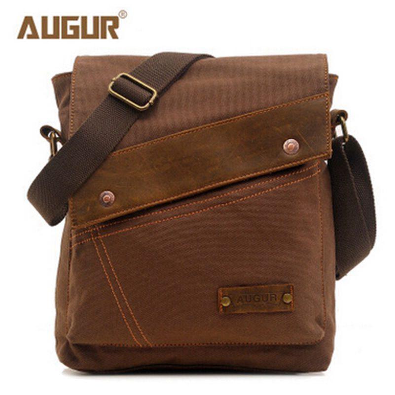 2016 New Men Messenger Bags Casual Canvas Man Bag Travel Shoulder Crossbody Small Bags Designer Handbags Bolso Business Handbags