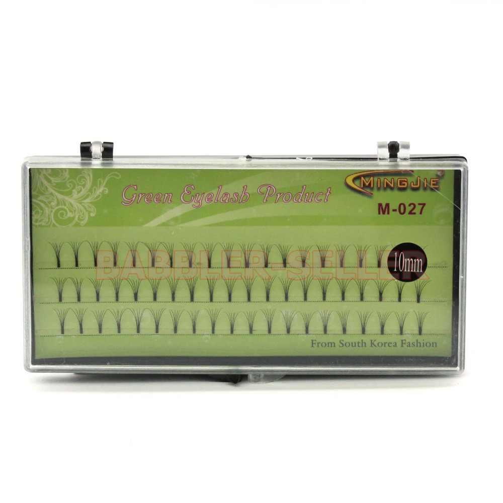 Corea M-027 MINGJIE 1 caja 6 raíces pestañas postizas herramienta de extensión de maquillaje