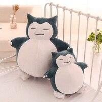Pluszowe Zabawki Snorlax Piękny Super Miękkie Anime Lalki Pluszowe poduszki Wielki Dar kawaii Nadziewane lalki dla Dzieci