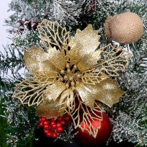 Image 5 - Yoriwoo 3 Nhân Tạo Hoa Giáng Sinh Hoa Giả Lấp Lánh Merry Christmas Cây Đồ Trang Trí Quà Giáng Đồ Trang Trí Cho Gia Đình Năm Mới