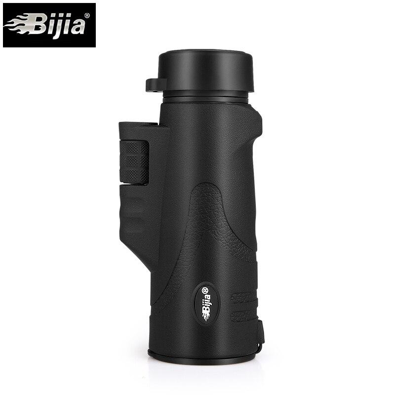 BIJIA Stickstoff Wasserdicht 10X Fernrohre Tragbaren Nachtsicht Monocularteleskop für Wandern Traval outdoor-sportarten