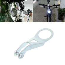 Soporte de luz de bicicleta Vintage faro lámpara de ciclismo soporte de generador Retro luces LED montaje de alta calidad parte de bicicleta MTB