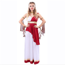 new Greece Goddess Costume Egyptian Queen Cosplay Dress Cleopatra Athena Roman Princess Fancy Dress Halloween Costumes for Women