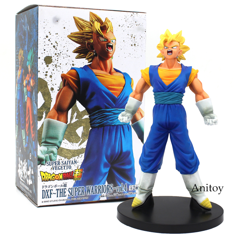 Dragon Ball Super Saiyan Vegetto 1/8 scale painted figure DXF The Super Warriors vol.4 Vegetto PVC Action Figure Toy 20cm dragon ball dxf the super warriors vol 3 super saiyan rose gokou black and vegetto pvc figure collectible model toys kt4201