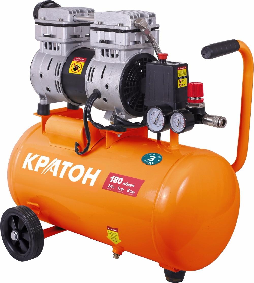 Compressor with direct transmission oil-free low noise Kraton AC-180-24-OFS compressor kraton with direct transmission ac 360 100 ddv
