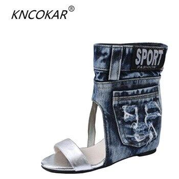 Chaussures talons hauts et dames en peau de chèvre sandales bottes