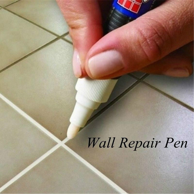 Home Tile Grout Marker Repair Wall Pen White Grout Marker Odorless Non Toxic for Tiles Floor 8 Colours ChoseHome Tile Grout Marker Repair Wall Pen White Grout Marker Odorless Non Toxic for Tiles Floor 8 Colours Chose