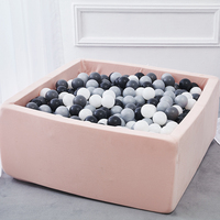 Baby Pool Balls Playpen Toys For Children Ocean Ball Pit Infant Sponge Kiddie Square Piscine Soft Playground Comfortable Gifts