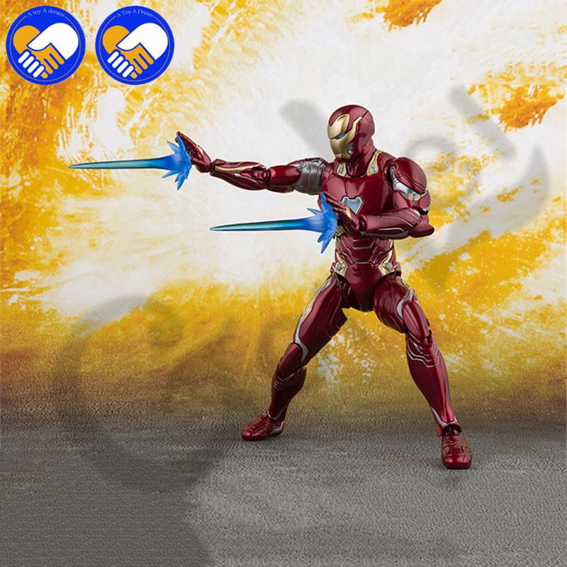 NEW Marvels Select Iron Man MK50 Mark infinity war Armor PVC Action Figure Collectible Model Toy Ironman ACGN figure Brinquedos