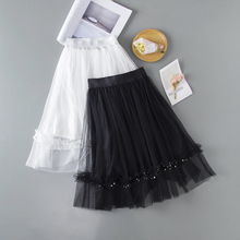 Baby Girl Clothes Spring Summer Solid Ruffle Long Tutu Skirt Children Princess Dance Tulle tutus toddler teen girls pettiskirt children girls clothes summer long tulle tutu skirt pink ruffle solid fuffy skirts for 2 14y mesh pleated princess pettiskirt