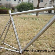 Титановая рама для велосипедной дорожки с тормозом и тросом
