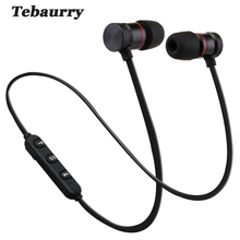 New Magnetic Bluetooth Earphone With Mic Wireless Earphones Sport Running Bass Bluetooth Headsets Wireless For iPhone Xiaomi