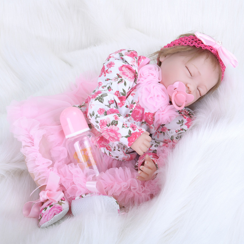 55CM Babies Real Silicone Reborn Baby Dolls Bebe Reborn Little Boys Babies Toys for Kid Gift SB5567 Adora Doll Brinquedos Boneca original barbie dolls skipper dolphin magic adventure doll with clothin babies boneca brinquedos toys for children birthday gift