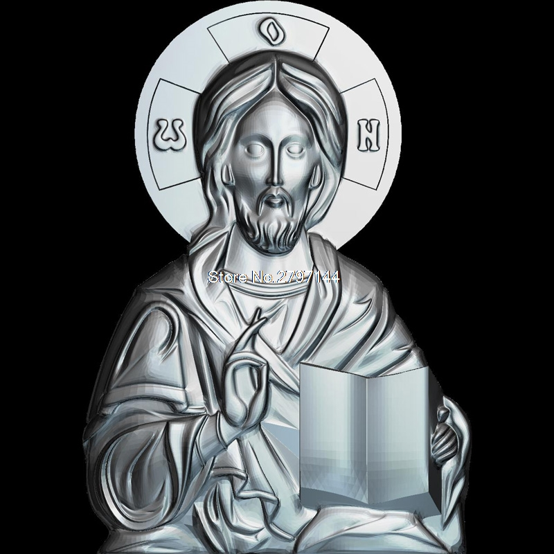 Isus 3D model relief figure STL format Religion 3d model relief  for cnc in STL file format venerable nikita stylites pereslavsky 3d model relief figure stl format religion 3d model relief for cnc in stl file format