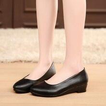 цены на Women Ballet Flats Shoes Black Women Casual PU leather Shoes For Office Work Boat Shoes Cloth Sweet Loafers Womens Classics Shoe  в интернет-магазинах