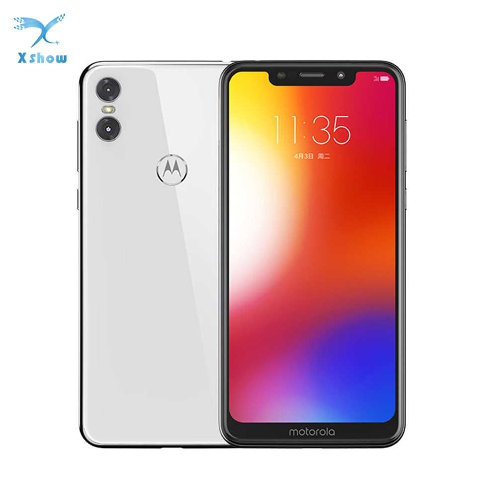 MOTO P30 Play Global rom 4GB RAM 64GB ROM Dual Camera 13.0MP 1080P LTE Snapdragon 625 Octa Core 1.8GHz ZUI 4.0 Fingerprint phone-in Cellphones from Cellphones & Telecommunications