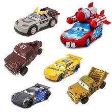 39 estilo escasso disney pixar carros 3 2 diecast carro de metal foguete relâmpago mcqueen mater louco acidente festa modelo de carro crianças presente