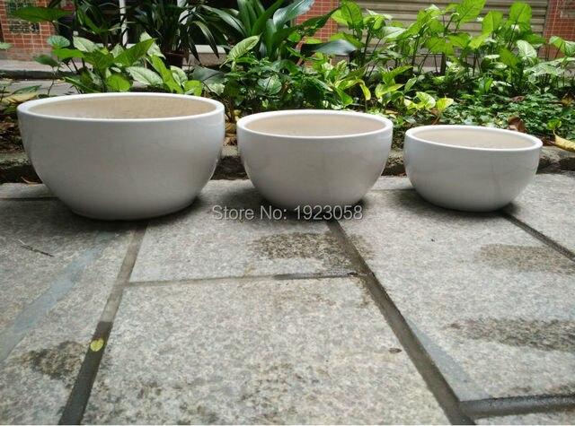 Lotus töpfe weiß keramik wasser blumentopf vase blumenkorb ...