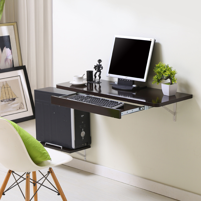 Simple Home Desktop Computer Desk Small Apartment New E Saving Wall Table In Desks From Furniture On Aliexpress Alibaba Group