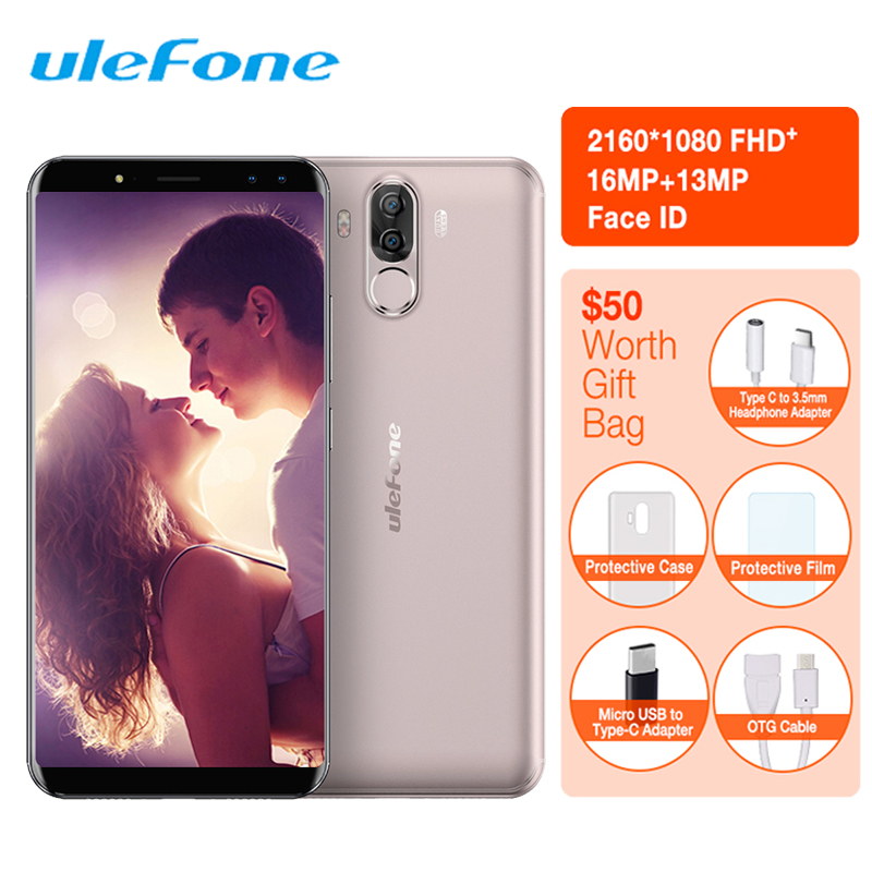 Ulefone Power 3S 18:9 Smartphone identification de visage Android 7.1 MTK6763 Octa Core 4GB + 64GB 6350mAh 16MP 4 caméra téléphone portable 6 pouces 4G LTE-in Mobile Téléphones from Téléphones portables et télécommunications on AliExpress - 11.11_Double 11_Singles' Day 1