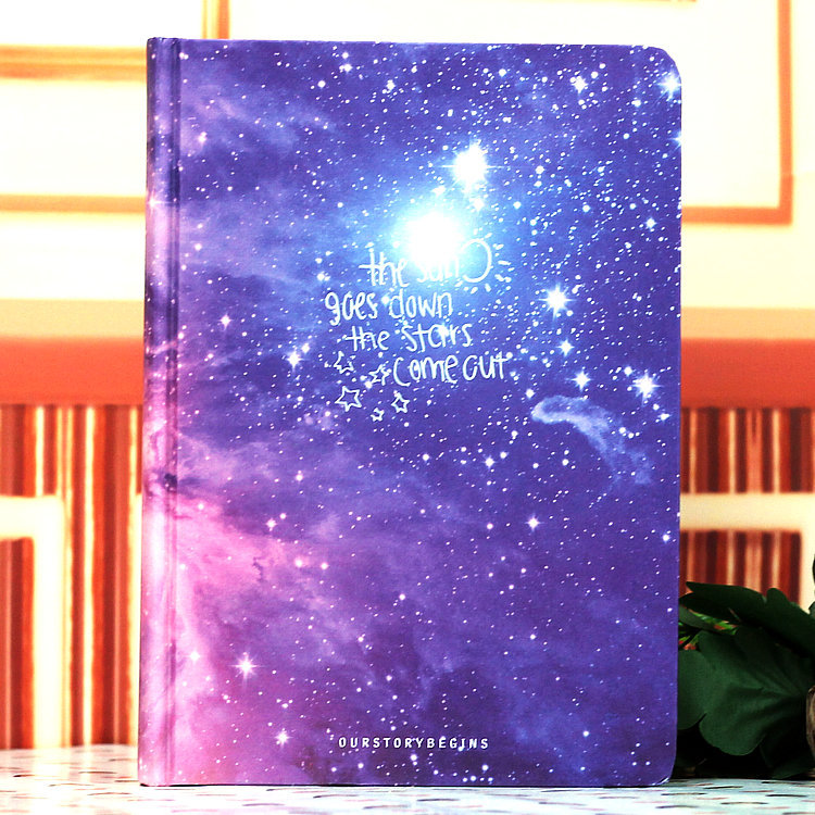 MIRUI Galaxy Science Fiction Picture Cover Series 13*18cm Handcover Creative Dairy Journal Notebook SketchbookMIRUI Galaxy Science Fiction Picture Cover Series 13*18cm Handcover Creative Dairy Journal Notebook Sketchbook