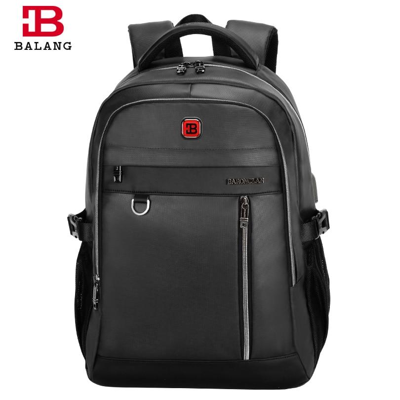 BALANG Laptop Backpacks for Men Multifunctional School Bags for Teenager Boys Waterproof Business Notebook Backpacks ConvenientBALANG Laptop Backpacks for Men Multifunctional School Bags for Teenager Boys Waterproof Business Notebook Backpacks Convenient