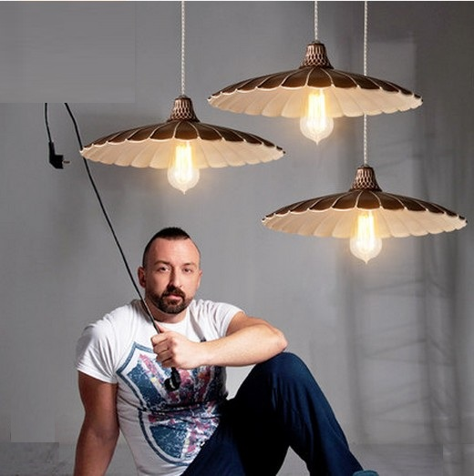 American Loft Style Iron Edison Pendant Light For Dining Room Hanging Lamp Vintage Industrial Lighting Lamparas Colgantes iwhd loft style creative retro wheels droplight edison industrial vintage pendant light fixtures iron led hanging lamp lighting